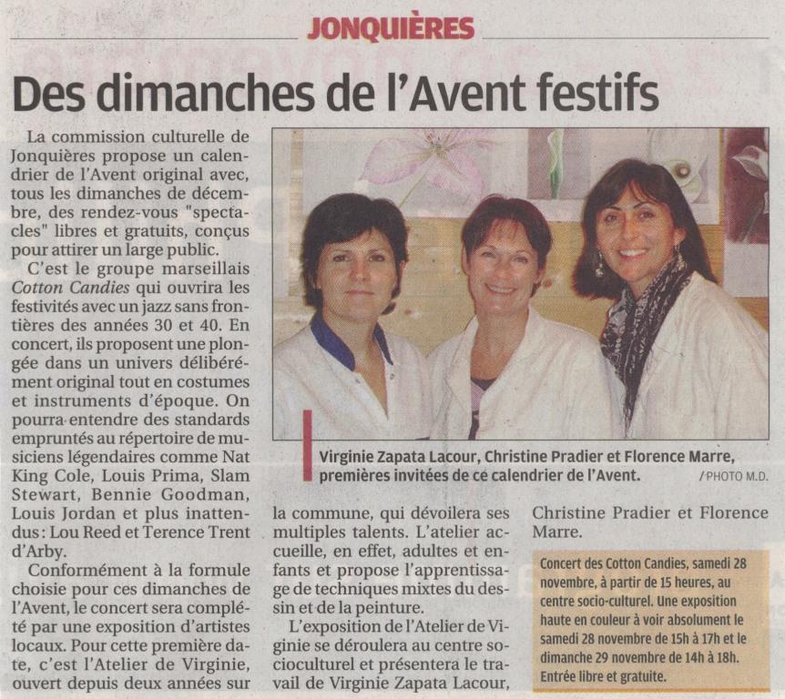 Article La Provence 1109